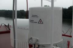 Створный маяк СКАЛС-2 на основе модулей ЛМ-650-20 в  Калининградском морском канале