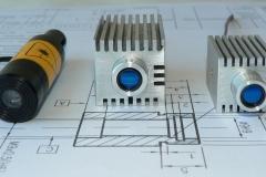 Лазерные модули-генераторы линии с теплоотводом