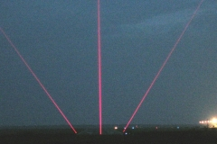 Система посадки самолетов на основе излучателей ЛИ-640-150А на ВПП